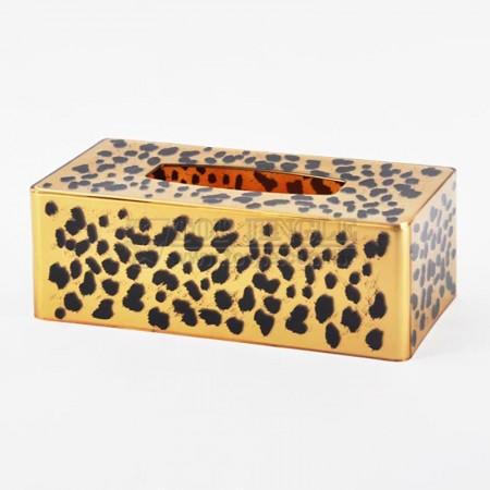 Leopard Design Tissue Holder