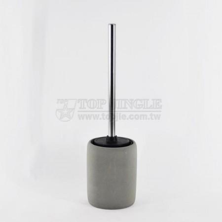 Цилиндрический держатель для туалетной щетки
