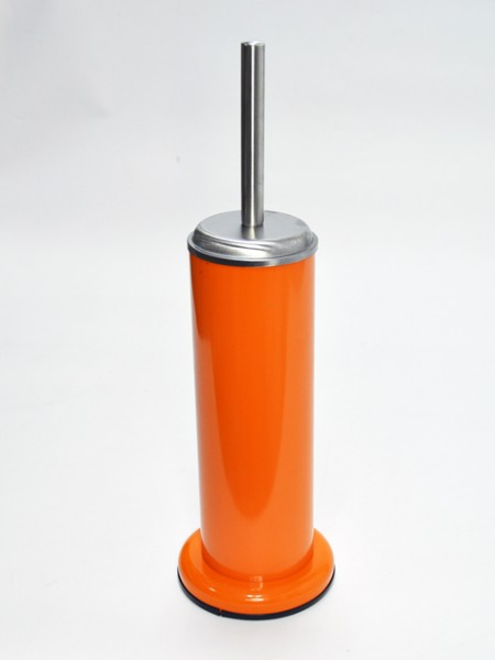 Orange Toilet Brush Holder