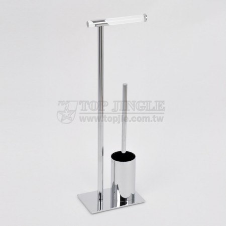 Metal Tube Toilet Butler