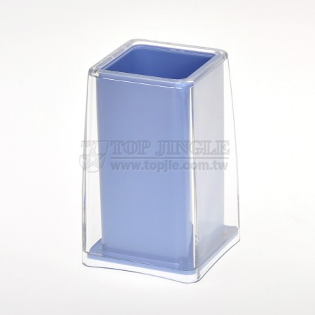 Современный нежный синий стакан