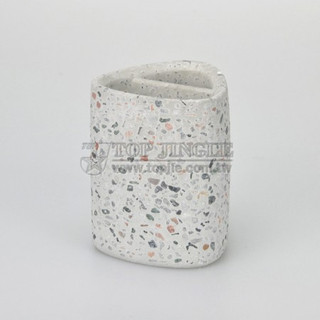 Colorful Stone Toothbrush Holder