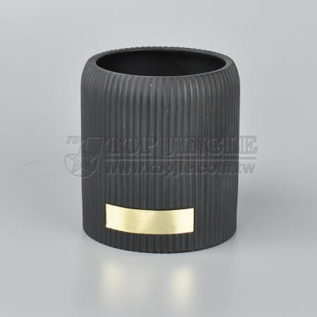 Straight Stripes Toothbrush Holder