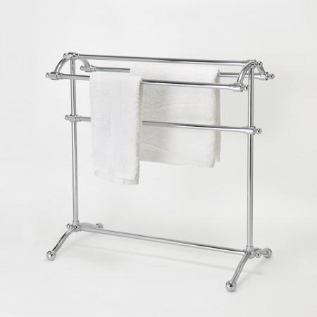 Металлическая вешалка для полотенец для ванной