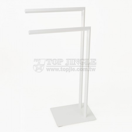 Double 7 Shaped Towel Rack