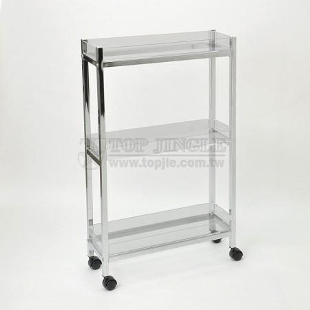 3-tier Acrylic Storage Trolley