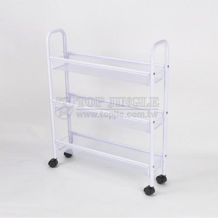 3-х уровневая тележка для проволочной корзины
