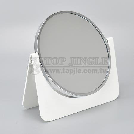 A Shaped Rotating Round Mirror