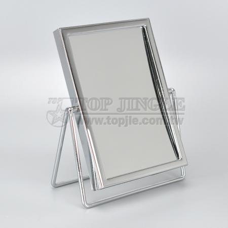 Rotating Rectangular Tabletop Mirror