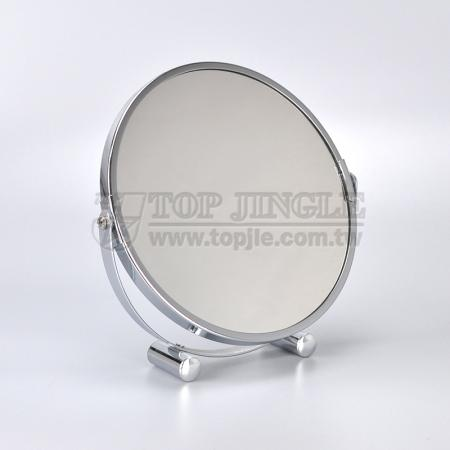 Double Side Round Tabletop Mirror