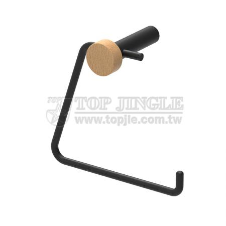 ㄈ Shape Wall Mounted Toilet Paper Holder