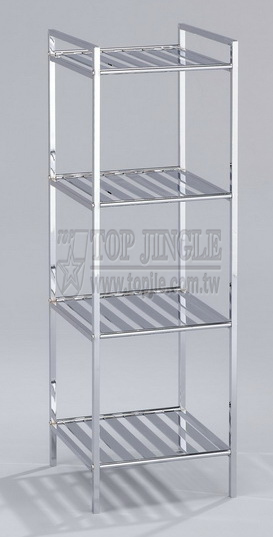 Square Metal Tube Storage Rack