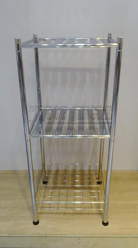 Round Metal Tube Storage Rack