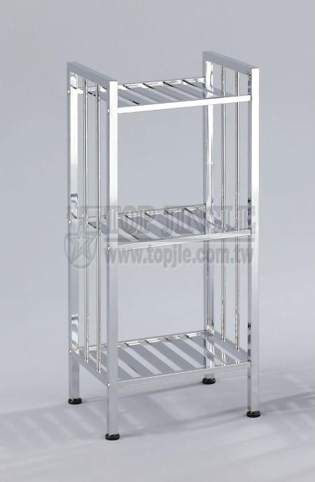 3-Tier Metal Storage Rack
