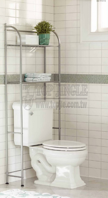 2-Tier Over Toilet Rack