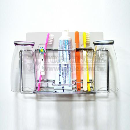 Adhesive Toothbrush Holder