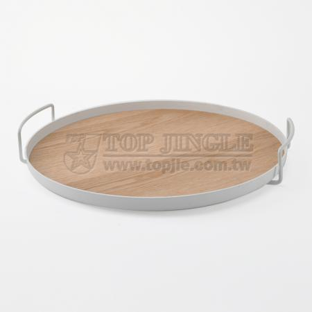 Round Shape Large Metal Tray