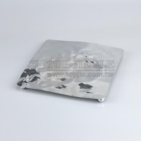 Dessous de plat carré en métal