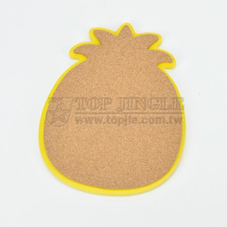 Pineapple Shape Cork Trivet