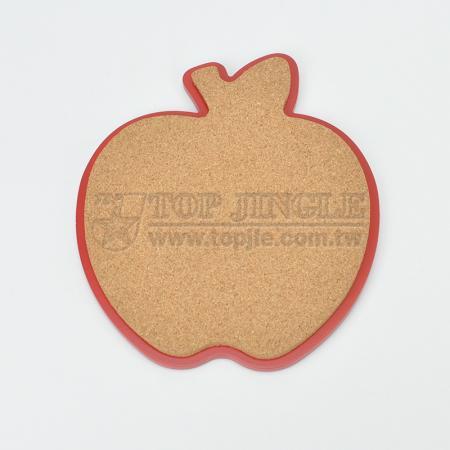 Apple Shape Cork Trivet