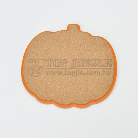 Pumpkin Shape Cork Trivet