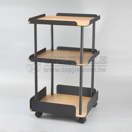 3 Tier Square Trolley Cart