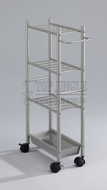 3-Tier Trolley With Basket