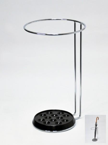 Black Tray Umbrella Holder