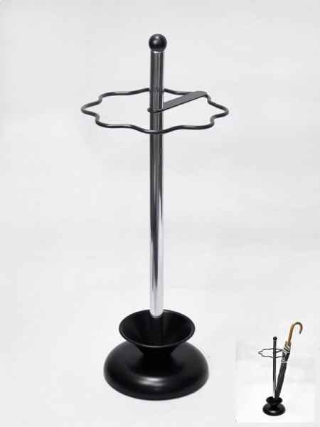Black Tray Umbrella Stand
