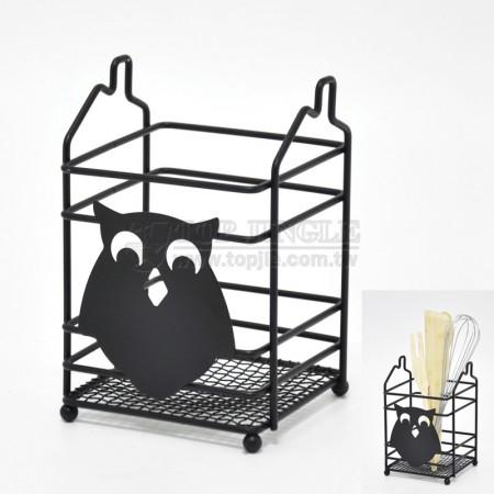 Owl Design Utensil Holder