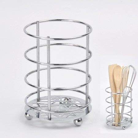 Abstract Totem Utensil Holder