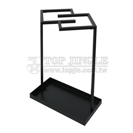 Square Metal Umbrella Stand