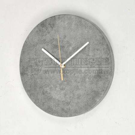 Cement Wall Hanging Clock