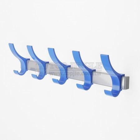 Aluminum 5 Double Hooks