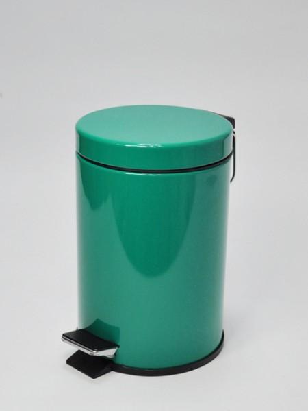 Koyu Yeşil Pedallı Çöp Kovası