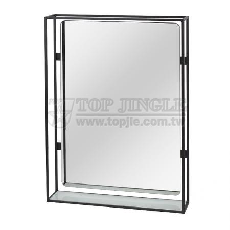 Wall Mounted Mirror With Shelf