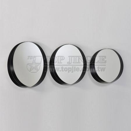 Настенное подвесное зеркало (S)