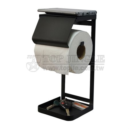 Wall-Mounted Roll Paper Holder