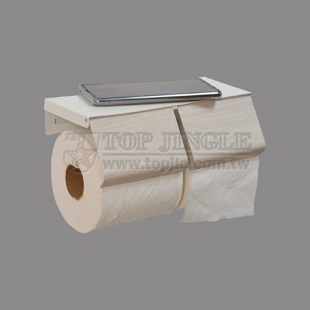 Wall Mounted 2-Rolls Paper Holder