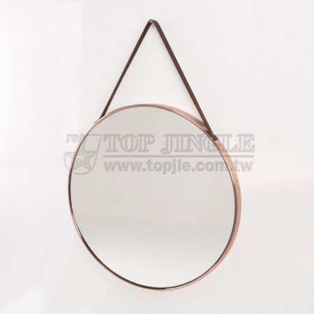 Large Wall Mounted Round Mirror