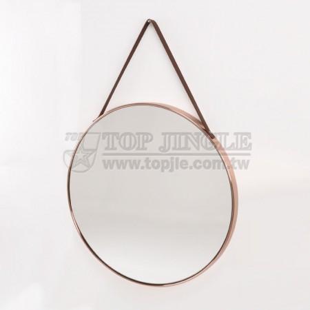 Большое настенное круглое зеркало