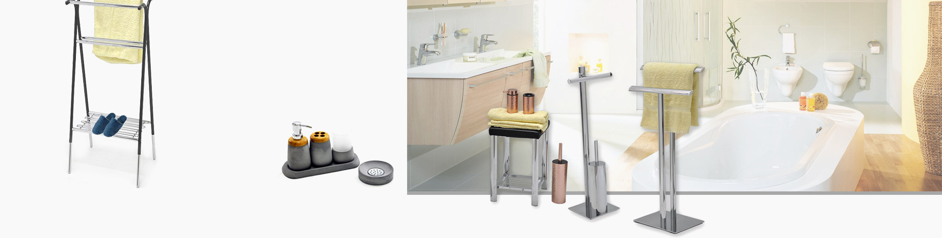Bathroom Revamp your retreat with space-saving vanity sets.