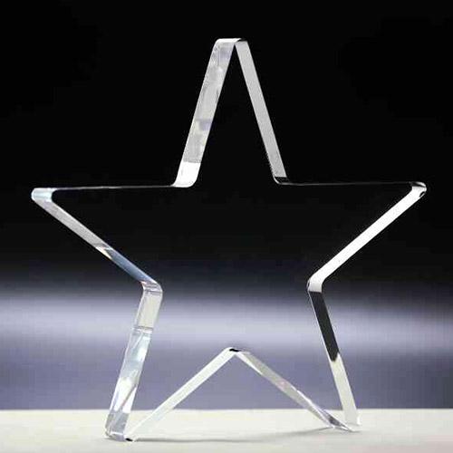 Feuille acrylique moulée transparente