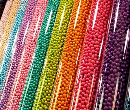 Acrylic Tube Candy Display