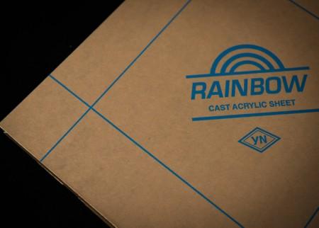Rainbow Logo Masking Paper