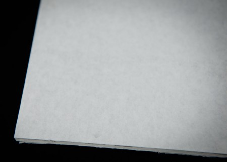 White Water Soluble Paper