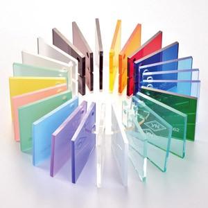 ورقة الاكريليك المصبوب شفافة اللون