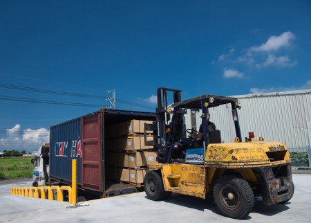 (8) Loading Container