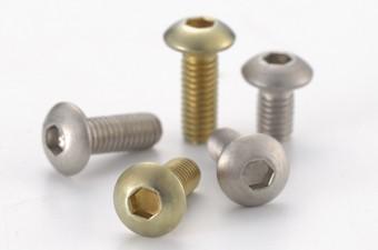 Titanium Hex Socket Button Head Screws