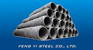 Tiges de fil d'acier